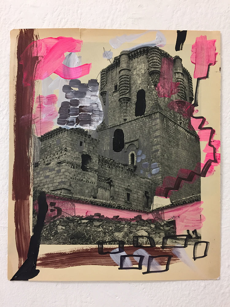 Federico Luger, Spain Book, 2011, mixed media on paper, cm 30,5x25,5