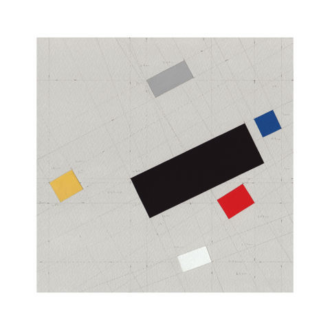 James Scott Brooks, Birthplace series: The Staatliches Bauhaus of Weimar, 2019, gouache and pencil on archival watercolour paper, 21 x 21 cm