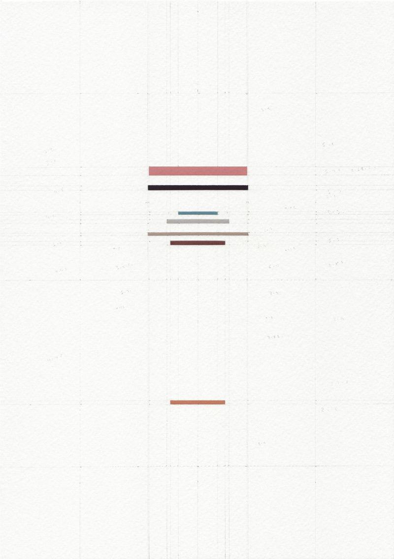 James Scott Brooks, Portmanteau Portraits (Graeco-Roman Gods), Athena & Minerva 2017, gouache, scalpel and paper on archival watercolour paper 15 x 10.5 cm
