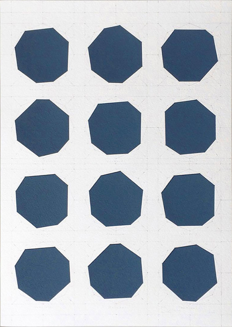 James Scott Brooks, Transformation of a city (Helsinki), 2016, gouache, scalpel & pencil on archival watercolour paper, 42 x 29.7 cm