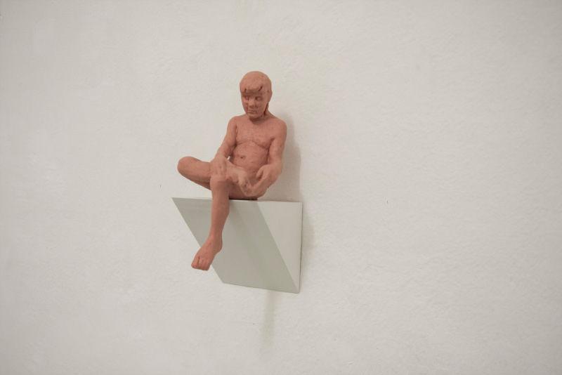 Miro Trubač, Pedro, 2013, silicon rubber, 8x25x6 cm